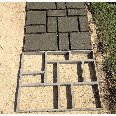 Molde De Pedra pathmate pavimento de Pavimento De Concreto molde Trampolim Pavimentadora Walk Way