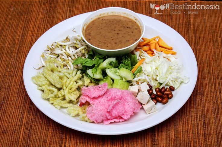 Asinan Best Indonesian Dishes #Jakarta #Indonesia #Food