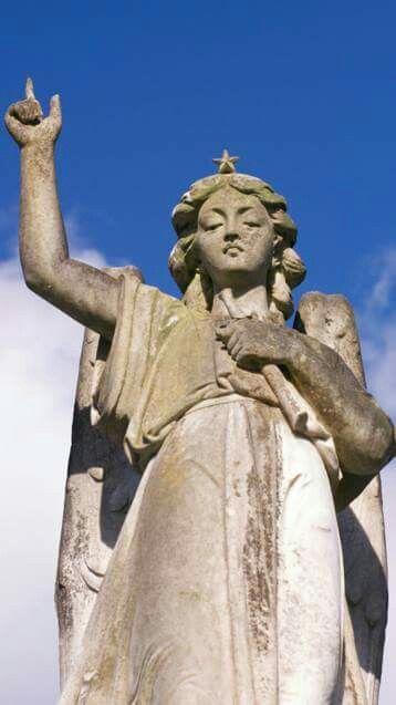 Waikumete cemetery Angel - Auckland, New Zealand.