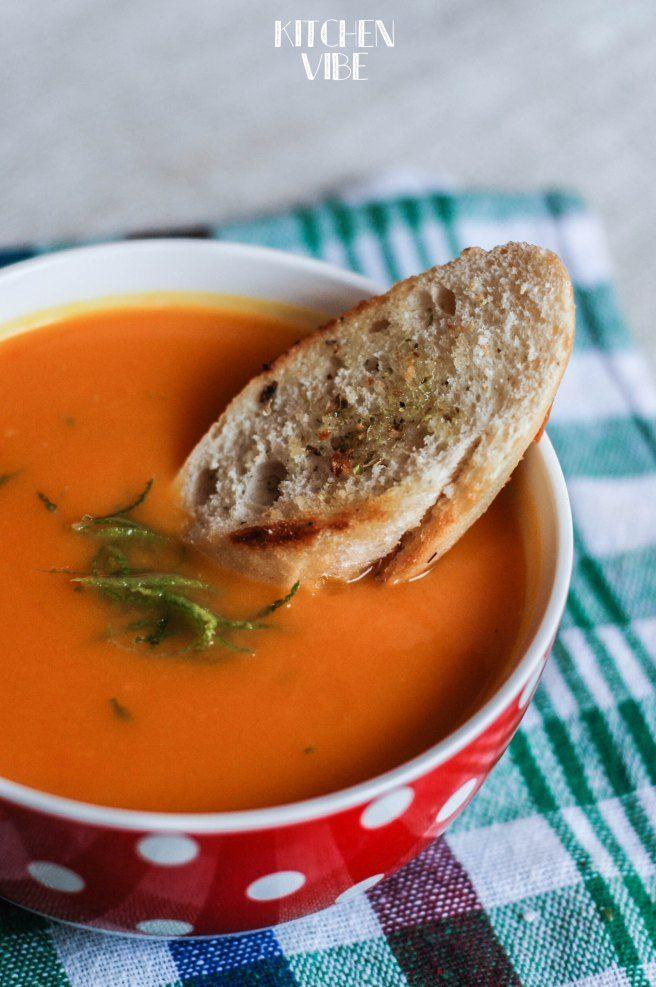 sweet potatoes & pumpkin cream soup