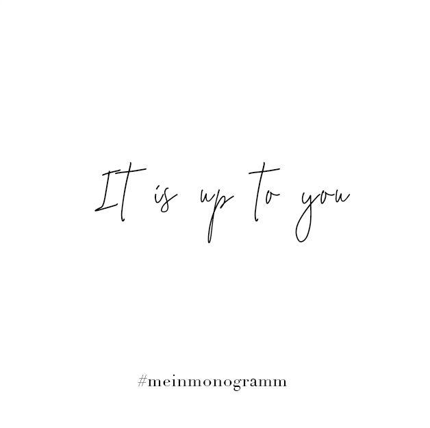 It Is Up To You Zitat Englisch Kurz Nachdenken Hoffnung
