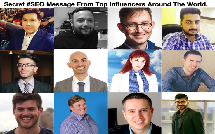 SEO tips and tricks from top Influencers around the world to get best rankings on Google. Tips from Neil Patel, Brain De Evans &....