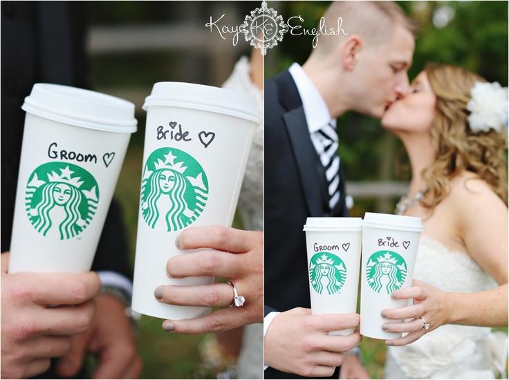 NJ Wedding Photography | Starbucks wedding