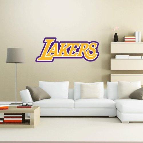 Los Angeles LA Lakers Logo Wall Decal Wall Decor 25u2033 X 10u2033