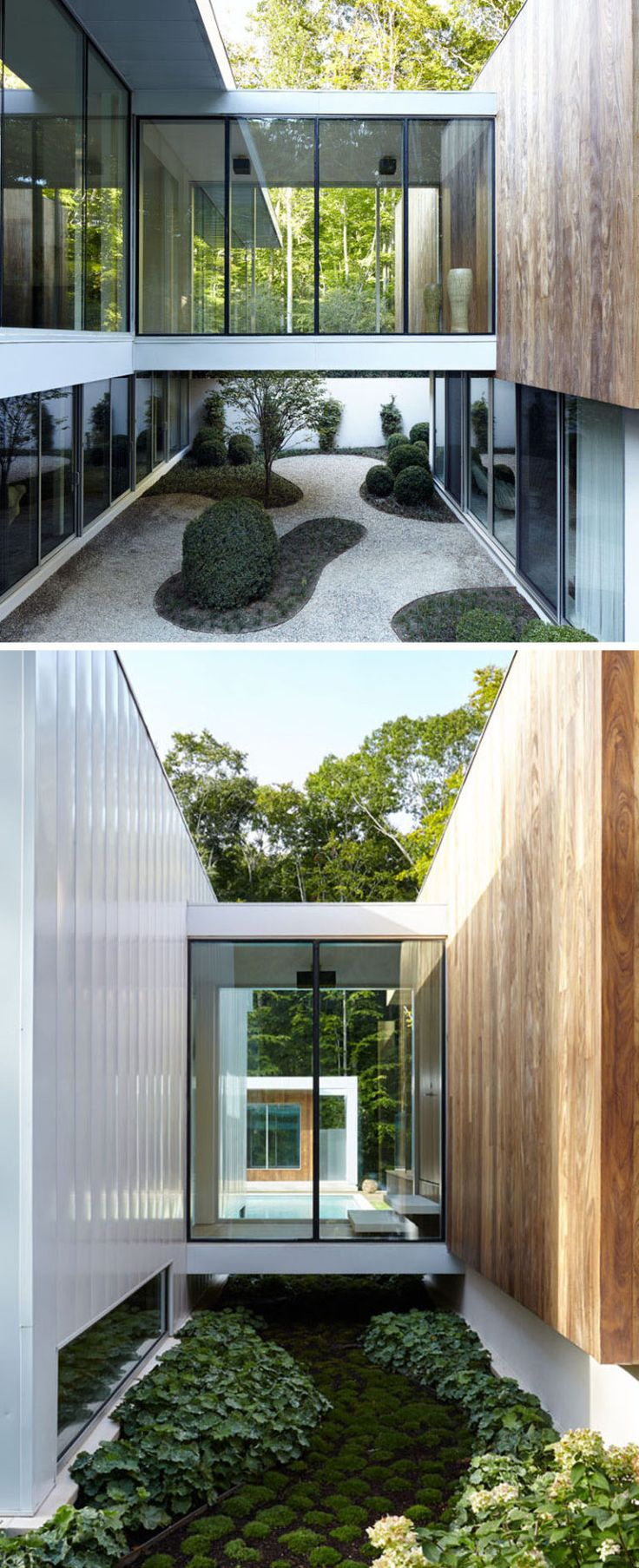 Modern Architecture House Glass 1479 best crazy for courtyards images on pinterest | courtyards