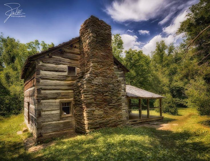 Walker Sisters Place, Little Greenbrier Valley, Great Smoky Mountains National Park, Tennessee