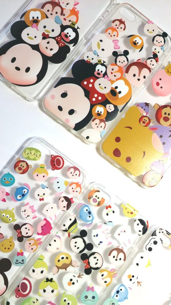 Tsum Tsum Inspired Iphone 6 and 6 plus Case by LittleThingsbyTT