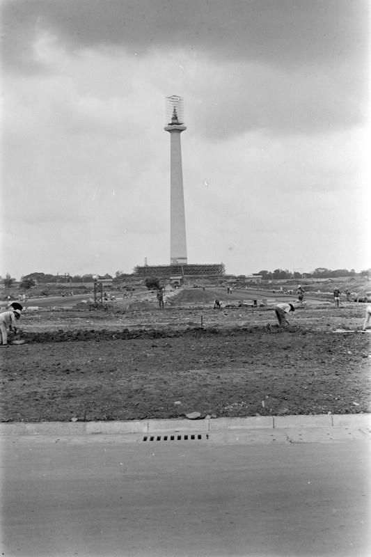 Jakarta in the old days - Monas