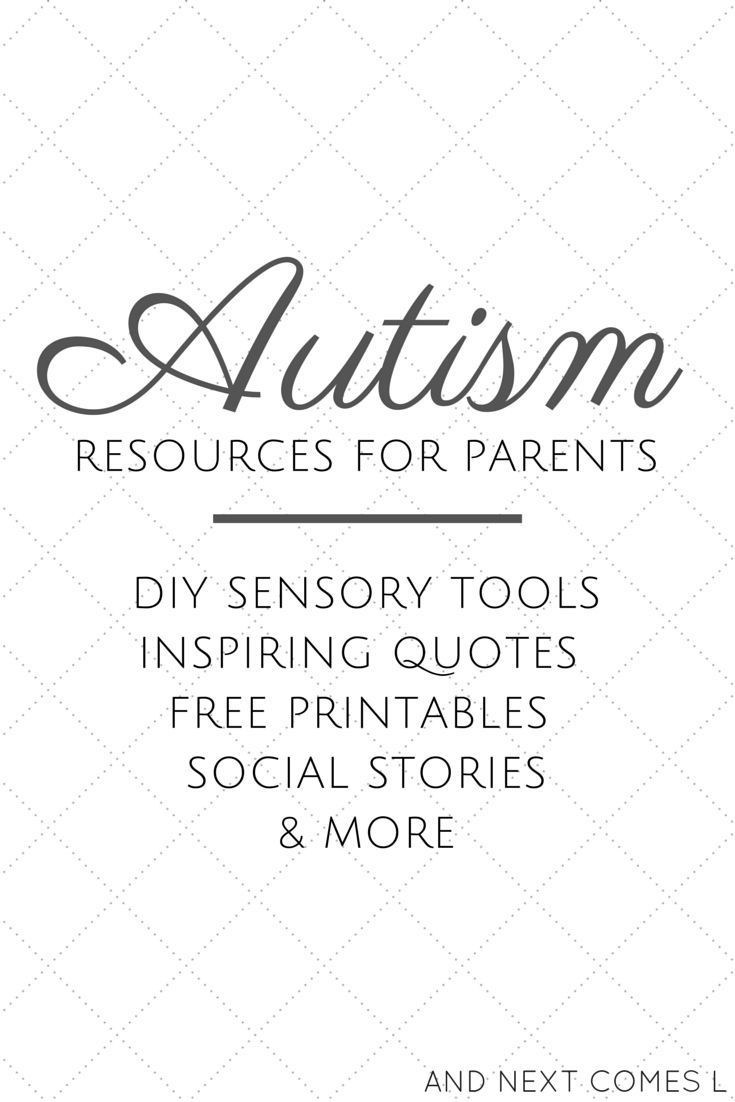 Autism resources for parents including DIY sensory tools, free printables, free social stories, & inspirational quotes #speechtherapy @autism