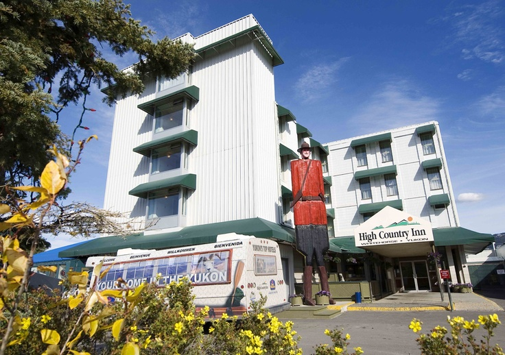 Welcome to the Coast High Country Inn and the world's largest Mountie!
