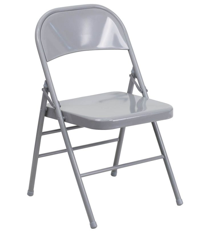 White Metal Folding Chairs best 20+ metal folding chairs ideas on pinterest | folding chairs
