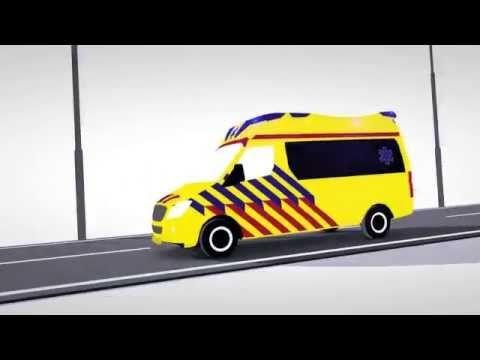 De mensen van de ambulance - informatieve filmpjes. Hoe gaat het eraan toe bij de hulpdienst?