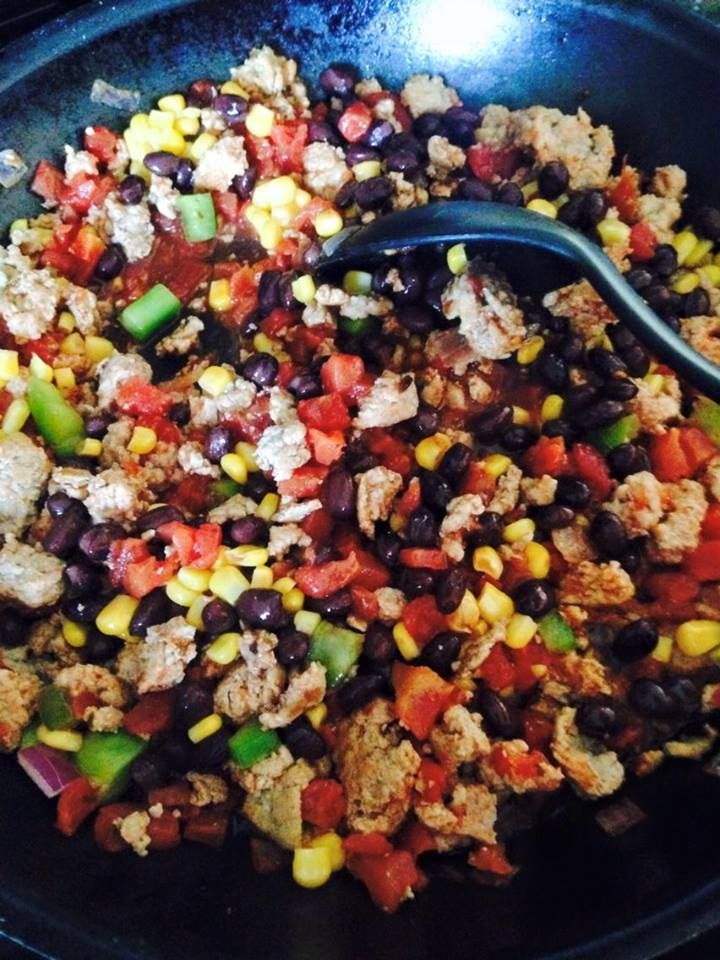 21 Day Fix Quick Turkey Taco Skillet