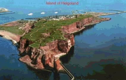 the north frisian island heligoland germany was once part of the british empire 1814 1890. Black Bedroom Furniture Sets. Home Design Ideas