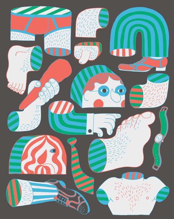 Graphics & Illustration | Eline Van Dam, aka Zeloot