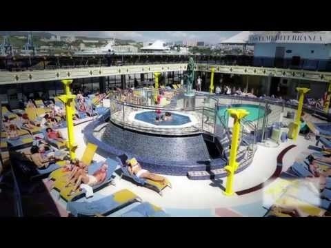 COSTA MEDITERRANEA 20/05/13 Champions of the Sea Event