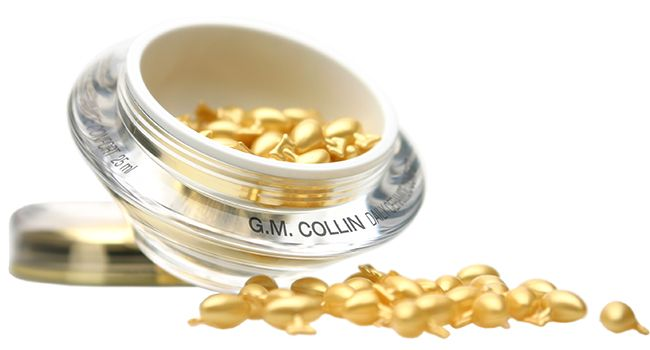 The best face oil meets serum for anti aging- GM Collin Daily Ceramide Comfort comes in capsule format to preserve its potency.