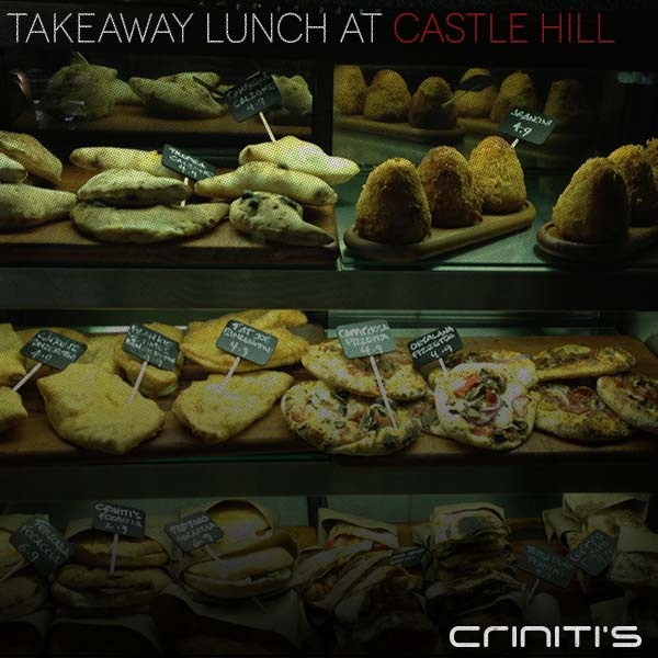 Your favourite wood fire menu items from Criniti's, now