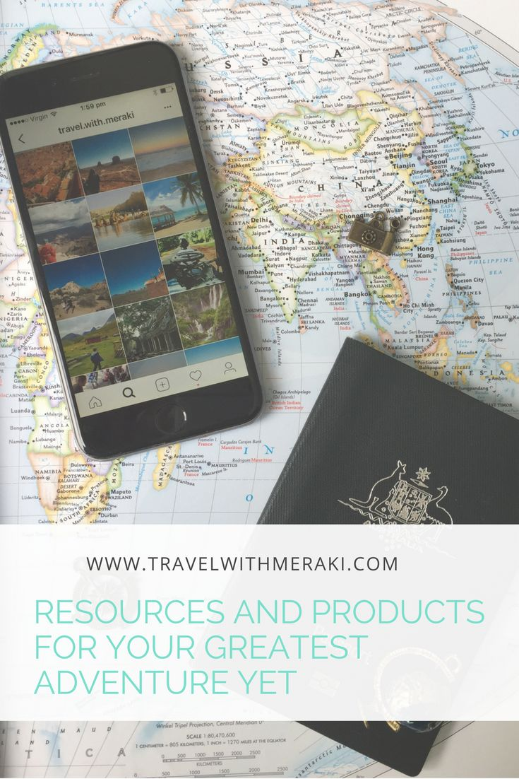 Travel sites and products to get you on your way to your next adventure.