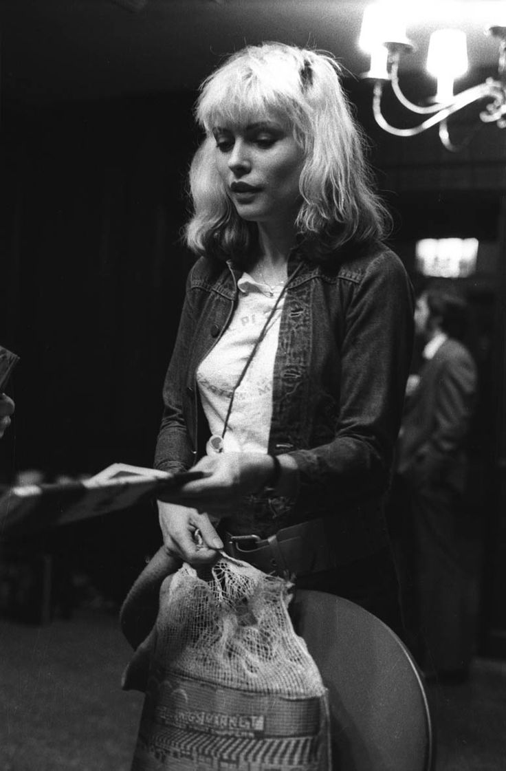 — Debbie Harry, 1977