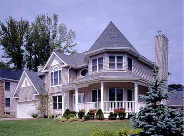 Plan 38803JA: Six Bedroom Victorian Farmhouse | Victorian