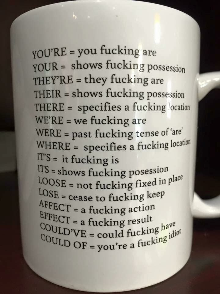 The perfect gift for the angry grammar nerd in your life   funny pictures