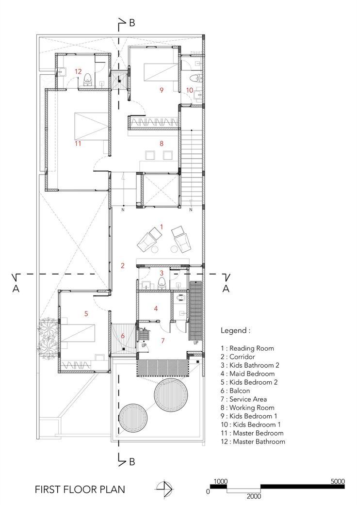 Ground Floor Plan | PLANOS DE CASAS CON PISCINA | Pinterest | Ground ...