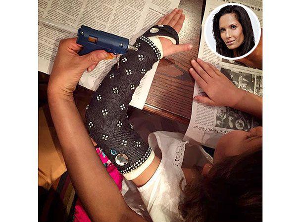 Padma Lakshmi Turns Daughter's Cast Into BedazzledMasterpiece http://celebritybabies.people.com/2015/01/07/padma-lakshmi-daughter-krishna-bedazzled-cast/