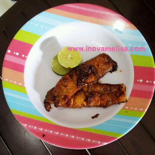 Resep Mudah Praktis Ikan Dori Panggang Saus Inggris (Steak Dori Saus Inggris) ~ Resep Inova Melisa