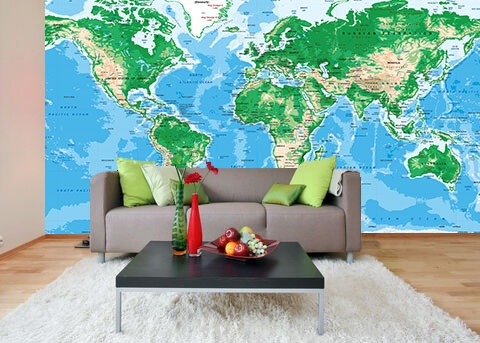 Best Topography Map Ideas On Pinterest Topographic Map - World topography