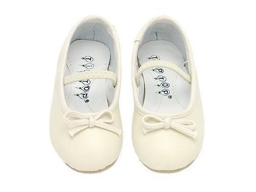 GIRLS KIDS DRESS SHOES Wedding Formal Pageant IVORY #Dress