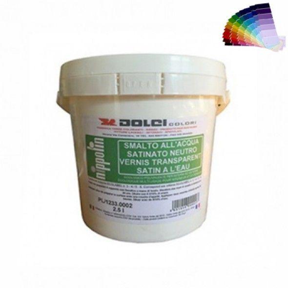 Peinture naturelle satinée, couleurs, murs et boiseries int/ext 1L/10m2 DOLCI
