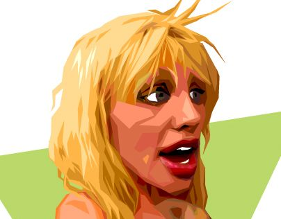 "#illustration #CourtneyLove Check out new work on my @Behance portfolio: ""Givin' Love"" http://be.net/gallery/36661331/Givin-Love"