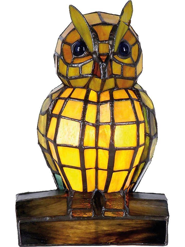 Tischleuchte Eule Eek A A Bis E H 22 Cm In 2020 Tiffany Jugendstil Lampen Und Tiffany Lampen