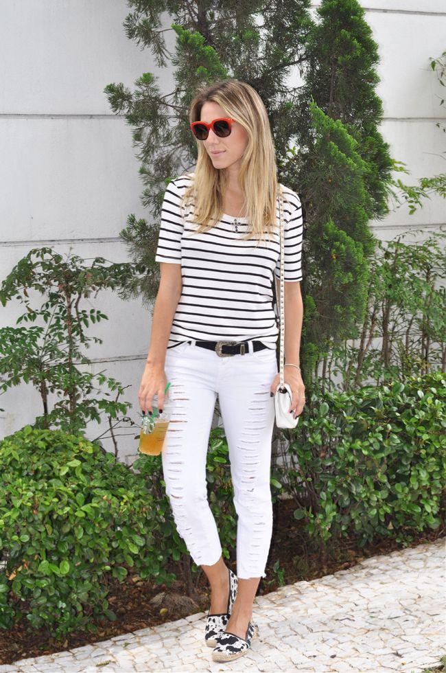 glam4you nativozza vozza blog moda fashion look do dia outfit jeans ripped 5 Meu Look: Playing Casual Starbucks Meu Look Casual Meu Look Coa...
