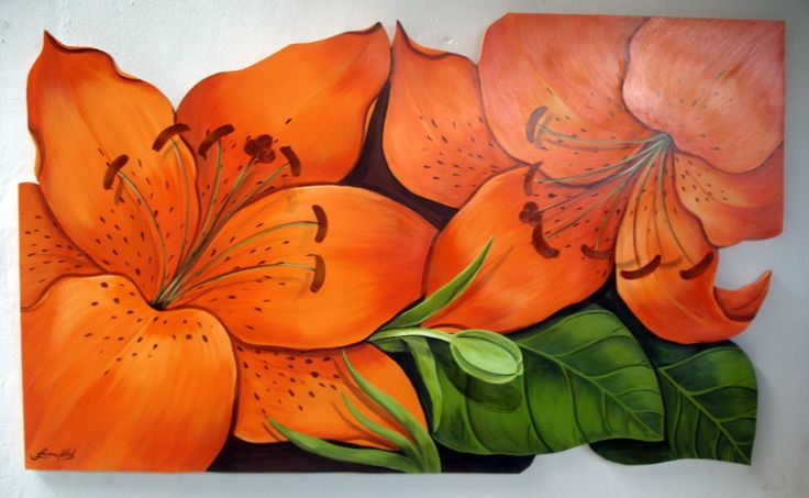 Pintura Decorativa sobre madera