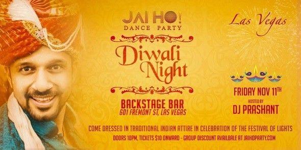 Las Vegas: Jai Ho! Bollywood Party - Diwali Night