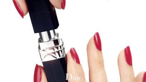 "dior: "" Rouge Dior Baume. A bouquet of balms, naturally couture… """