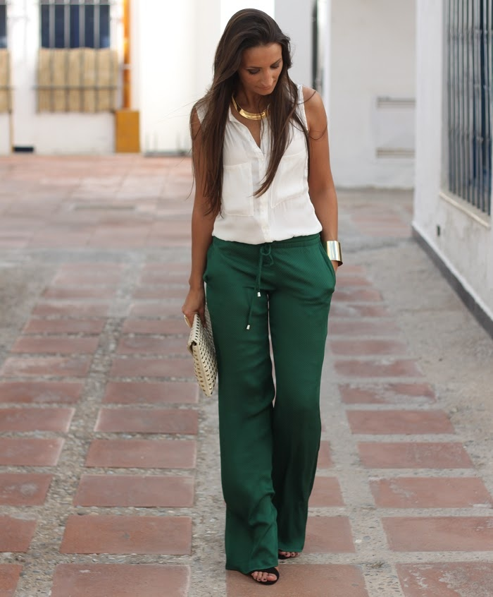 From Boho to Chiic: Sophisticated Green