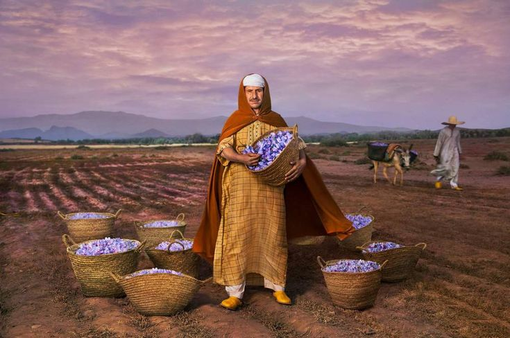 ... President of the saffron agricultural cooperative and Slow Food Presidium in Taliouine, a village in the south east of Morocco, the freedom of his ...
