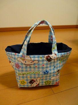 保冷シート付きお弁当袋 (内布付き) を作りました。 仕上がりが格段にきれいです♪ - 『のんびりと』 Norの花と いろいろと