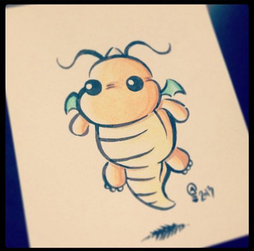 Chibi Pokemon Originals - Dragonite