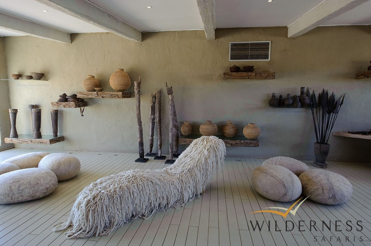 Little Kulala - The interiors have been designed to provide an all-natural and unique experience in this most beautiful environment. #Safari #Africa #Namibia #WildernessSafaris
