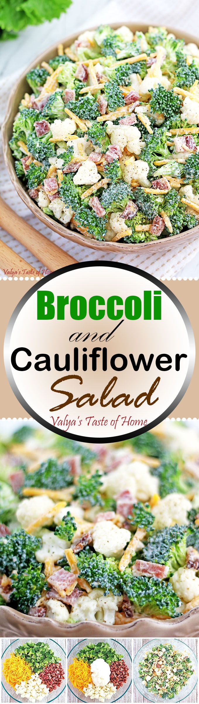 This salad is one that's so easy to prepare but tastes flavorful, refreshing and satisfying. One noteworthy tip is to soak the broccoli in freshly-squished lemon juice for extra flavor and crispness. It will also keep broccoli from losing that bright green fresh color. Bacon and freshly grated cheese give the additional boost in taste that kids love. The salad goes really well with many main courses but especially pasta courses.