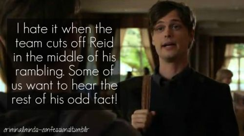 I love to listen to Reid ramble
