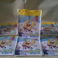 Tas Souvenir ulang tahun spunbond spongebob
