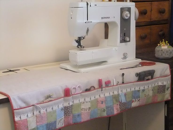 "Show and Tell: ""Bloom"" Sewing Machine Mat Finished"