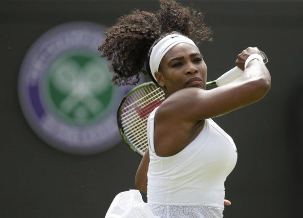 williams.JPG (The Associated Press) Serena Williams seeks to tie Steffi Graf's record for the most major singles titles in the Open era.