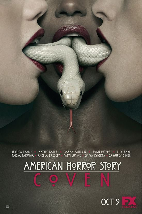 American Horror Story - Season 3 - cannot wait! My favorite shows on during my favorite time of the year!!