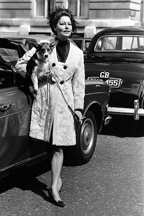 Ava Gardner in London, 1970. Photo by Eugene McCarthy